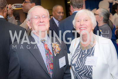 Mike Kraft, Betsy Harvey Kraft, Story Time Gala Reception at the DC Martin Luther King Public Library ,  March 16, 2016.  Photo by Ben Droz.