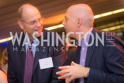 Ed Pagano, Josh Wachs , Story Time Gala Reception at the DC Martin Luther King Public Library ,  March 16, 2016.  Photo by Ben Droz.