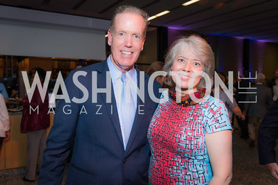 Gregory McCarthy, Sara Cormeny, Story Time Gala Reception at the DC Martin Luther King Public Library ,  March 16, 2016.  Photo by Ben Droz.