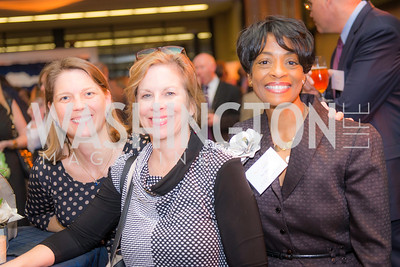 Andrea Harper(L), Jill Flack(M,)Joy Dorsey, Story Time Gala Reception at the DC Martin Luther King Public Library ,  March 16, 2016.  Photo by Ben Droz.