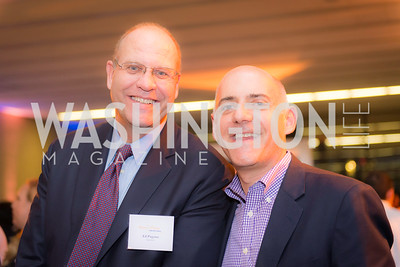 Ed Pagano, Josh Wachs, Story Time Gala Reception at the DC Martin Luther King Public Library ,  March 16, 2016.  Photo by Ben Droz.