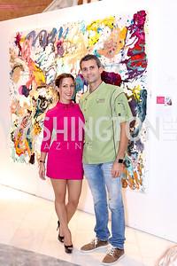 Anastasia Dellaccio and Gianluigi Dellaccio. Photo by Tony Powell. Superfierce. NMWA. October 19, 2016