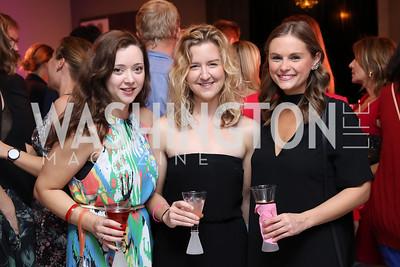 Emily Patterson, Kasey O'Boyle, Katherine Limperis. Photo by Tony Powell. Superfierce. NMWA. October 19, 2016