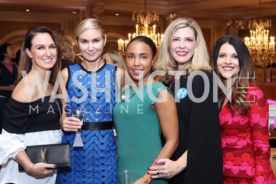 Jennifer Harlow, Angie Diba, Ayanna Dunn, Allison Priebe, Teri Pantelakos. Photo by Tony Powell. Superfierce. NMWA. October 19, 2016
