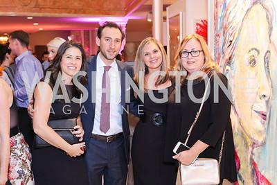Jessica Scott, Ezra Weinblatt, Celeste Henry, Sherrie Moeller. Photo by Tony Powell. Superfierce. NMWA. October 19, 2016