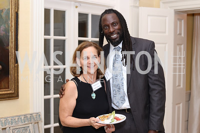 Emily Bloomfield, MenSa Maa. Photo by Tony Powell. TFA Meet Our New Teachers. Bradley Residence. September 19, 2016
