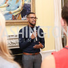 DC Region 2014 Alum Davian Morgan. Photo by Tony Powell. TFA Meet Our New Teachers. Bradley Residence. September 19, 2016
