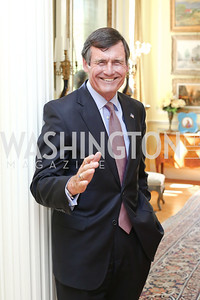 Tom Kuhn. Photo by Tony Powell. Tea Honoring Women of the Diplomatic Corps. June 28, 2016