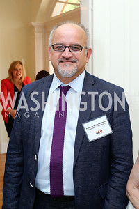 Montenegro Amb. Professor Srdjan Darmanovic. Photo by Tony Powell. Tea Honoring Women of the Diplomatic Corps. June 28, 2016