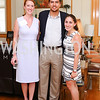 National MS Society's Laura Weidner, Andrew Jacobson, National MS Society's Netanya Lebach. Photo by Tony Powell. Tea Honoring Women of the Diplomatic Corps. June 28, 2016