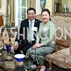 Laos Amb. Mai Savayongs and Soumaly Savayongs. Photo by Tony Powell. Tea Honoring Women of the Diplomatic Corps. June 28, 2016