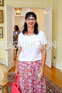 Anita Dahinden. Photo by Tony Powell. Tea Honoring Women of the Diplomatic Corps. June 28, 2016