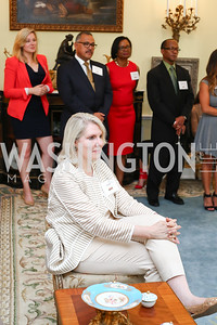 Jan Smith. Photo by Tony Powell. Tea Honoring Women of the Diplomatic Corps. June 28, 2016