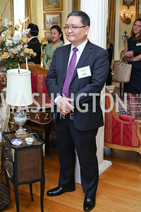Kazakhstan Chief of Mission Yerkin Akhinzhanov. Photo by Tony Powell. Tea Honoring Women of the Diplomatic Corps. June 28, 2016