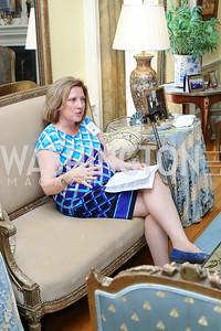 Ambassador's Ball Co-Chair Jennifer Kildee. Photo by Tony Powell. Tea Honoring Women of the Diplomatic Corps. June 28, 2016