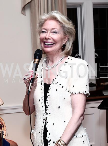 Joan Carl. Photo by Tony Powell. TFA Holiday Party. Carl Residence. December 9, 2015