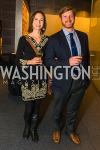 Diane Nickeson-Mendheim, Brian Street. Photo by Alfredo Flores. The Annenberg Space for Photography's Refugee Opening Reception. Newseum. November 17, 2016