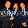 Shelly Pitterman, Kim Dozier, Matt Pennington. Photo by Alfredo Flores. The Annenberg Space for Photography's Refugee Opening Reception. Newseum. November 17, 2016