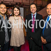Patrick Aster, Kristen Aster, Erol Kekic, Shelly Pitterman . Photo by Alfredo Flores. The Annenberg Space for Photography's Refugee Opening Reception. Newseum. November 17, 2016