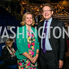 Kelly Clements, Jeffrey Herbst. Photo by Alfredo Flores. The Annenberg Space for Photography's Refugee Opening Reception. Newseum. November 17, 2016