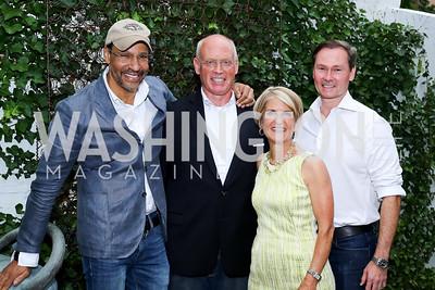 Darryl Carter, Greg Gaddy, Carroll Dey, Michael Rankin. Photo by Tony Powell. The Best of House and Home. Darryl Carter Inc. June 23, 2016