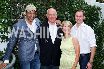 Darryl Carter, Greg Gaddy, Carroll Dey, Michael Rankin. Photo by Tony Powell. The Best of House and Home. Darryl Carter Inc. June 23, 2016