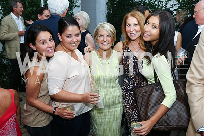 Romie Stefanelli, Suzan Muslu, Carol Dey, Kathy Vance, Ashley McCampbell. Photo by Tony Powell. The Best of House and Home. Darryl Carter Inc. June 23, 2016