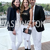 Mary Katherine Stinson, Avisha and David Kassir. Photo by Tony Powell. The Graham Rooftop VIP Anniversary. April 21, 2016