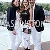 Mary Katherine Stinson, Avisha and David Kassir. Photo by Tony Powell. The Graham Rooftop VIP Anniversary. April 21, 2016
