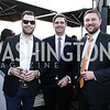 Christopher Gindlesperger, Jared Parks, Ryan Taylor. Photo by Tony Powell. The Graham Rooftop VIP Anniversary. April 21, 2016