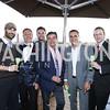Roberto Gonzalez, The Graham GM Robert Clark, Anthony Mannuccia, David Cronin, Farees Salim, Charles Tappan. Photo by Tony Powell. The Graham Rooftop VIP Anniversary. April 21, 2016