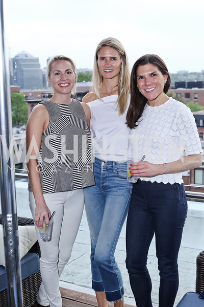 Laura Gail Smith, Paige Shirk, Alison Cricks. Photo by Tony Powell. The Graham Rooftop VIP Anniversary. April 21, 2016