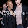 Aaron Jackson, Neil Grace. Photo by Tony Powell. The Graham Rooftop VIP Anniversary. April 21, 2016