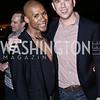 Aaron Jackson, Neil Grace. Photo by Tony Powell. The Graham Rooftop VIP Anniversary. April 21, 2016
