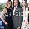 Lisa D'Angelo, Paul Wharton, Taiana Hale. Photo by Tony Powell. The Graham Rooftop VIP Anniversary. April 21, 2016