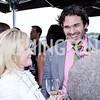 Rebecca Haller, John Farrell. Photo by Tony Powell. The Graham Rooftop VIP Anniversary. April 21, 2016