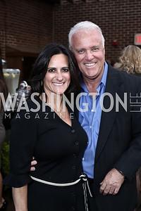 Rebecca Fishman, Bob Paff. Photo by Tony Powell. The Graham Rooftop VIP Anniversary. April 21, 2016