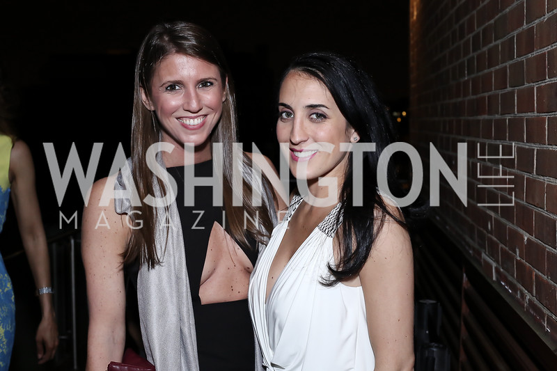 Suzanne Battista, Catherine Trifiletti. Photo by Tony Powell. The Graham Rooftop VIP Anniversary. April 21, 2016