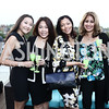 Aika Karimova, Annie Chan, Maresha Johnson, Arushi Tontsch. Photo by Tony Powell. The Graham Rooftop VIP Anniversary. April 21, 2016