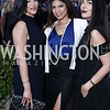 Eli Gold, Sakshi Tewary, Sanaz Noorbakhsh. Photo by Tony Powell. The Graham Rooftop VIP Anniversary. April 21, 2016