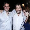 Matt Schneider, Julian Epstein, Madalyn Mahoney. Photo by Tony Powell. The Graham Rooftop VIP Anniversary. April 21, 2016