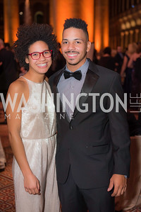 Miles Ray , Taylor Ray,  The Lab School of Washington, Awards Gala, at the National Building Museum, November 17, 2016.  Photo by Ben Droz