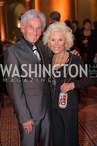 "Harold ""Rez"" Reznick, Cynthia Reznick,  The Lab School of Washington, Awards Gala, at the National Building Museum, November 17, 2016.  Photo by Ben Droz"