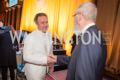 David Arquette, David Letterman, The Lab School of Washington, Awards Gala, at the National Building Museum, November 17, 2016.  Photo by Ben Droz