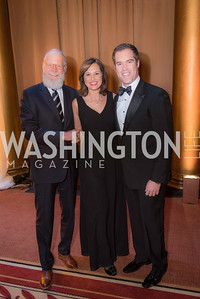 Peter Alexander, Alison Starling, David Letterman,The Lab School of Washington, Awards Gala, at the National Building Museum, November 17, 2016.  Photo by Ben Droz