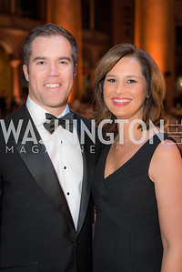 Peter Alexander, Alison Starling, The Lab School of Washington, Awards Gala, at the National Building Museum, November 17, 2016.  Photo by Ben Droz