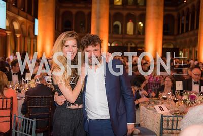 Eglantina Zingg, Domingo Zapata, The Lab School of Washington, Awards Gala, at the National Building Museum, November 17, 2016.  Photo by Ben Droz