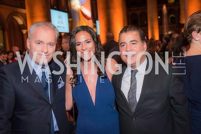 Fabian Koss, Hollis Pica, Robert Fardi,  The Lab School of Washington, Awards Gala, at the National Building Museum, November 17, 2016.  Photo by Ben Droz