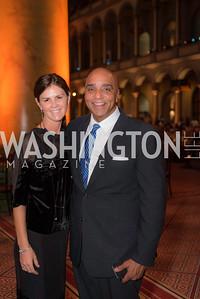 Maye Grennan, Joe Johns, The Lab School of Washington, Awards Gala, at the National Building Museum, November 17, 2016.  Photo by Ben Droz