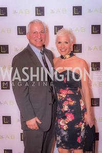 Dan Daus, Kristin Daus, The Lab School of Washington, Awards Gala, at the National Building Museum, November 17, 2016.  Photo by Ben Droz